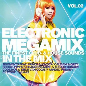 Electronic Megamix Vol.2 The Finest Club & House (MP3)